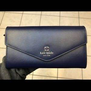 Kate spade wallet blue and pink